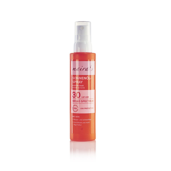 maira's Sonnenöl-Spray LSF 30, 150ml