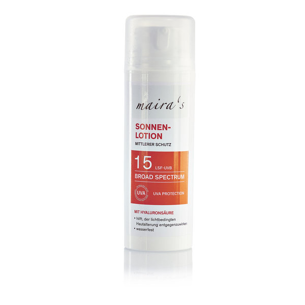 maira's Sonnenlotion LSF 15, 150ml